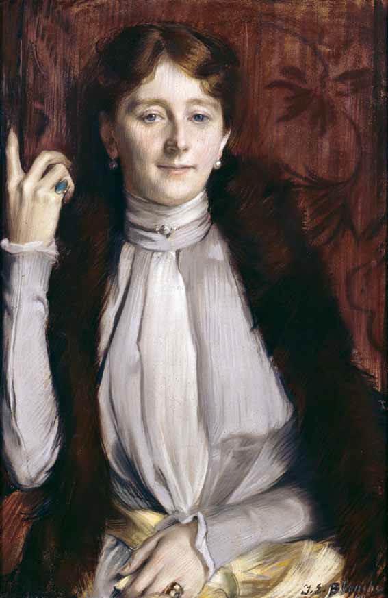 Marguerite Saint-Marceaux painting by Jacques Emile Blanche