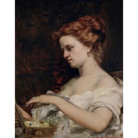 La femme aux bijoux (Courbet)