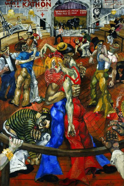 Dance Marathon by Philip Evergood 1934