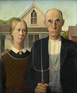 American Gothic 1930 Grant Wood