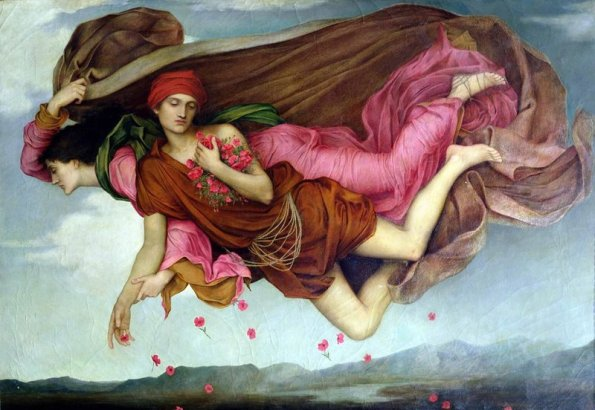 Night and Sleep by Evelyn de Morgan