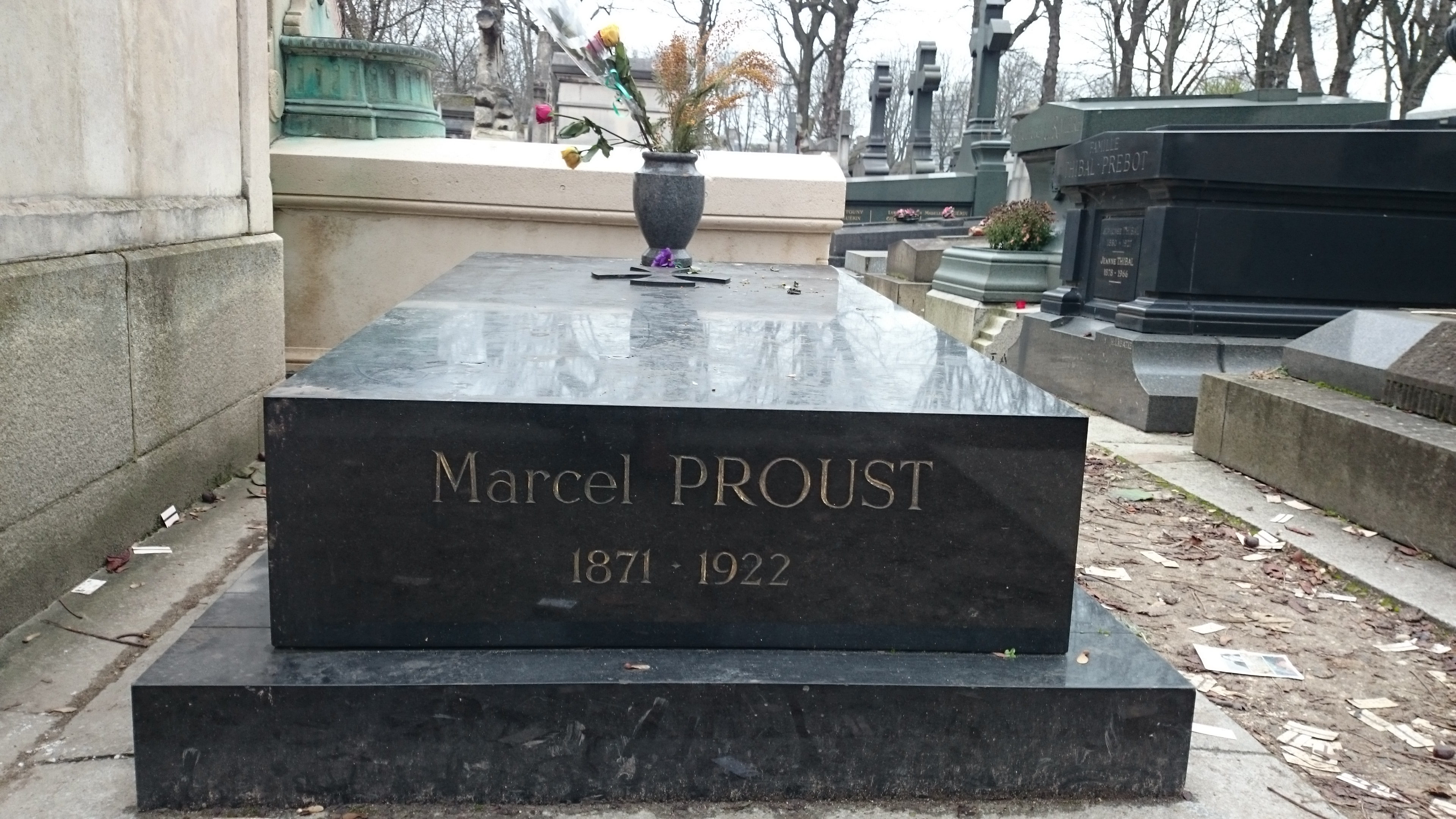 I Continue With The Proustian Atmosphere And Visited Alphonse Daudet's  Grave He Was A Writer (one I Studied In Middle School, I Think) But He Was  Also L�on